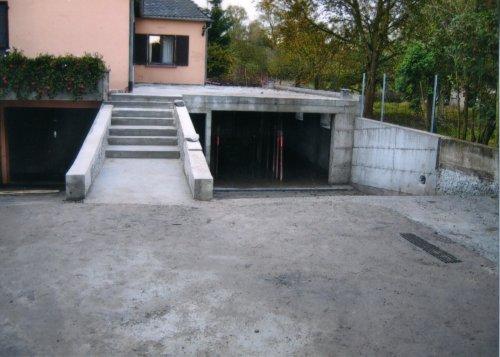 Constructions sg - Fabrication d un garage ...